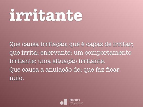 irritante
