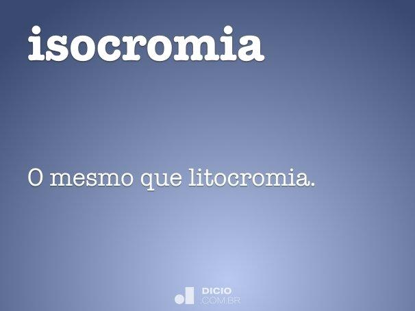 isocromia