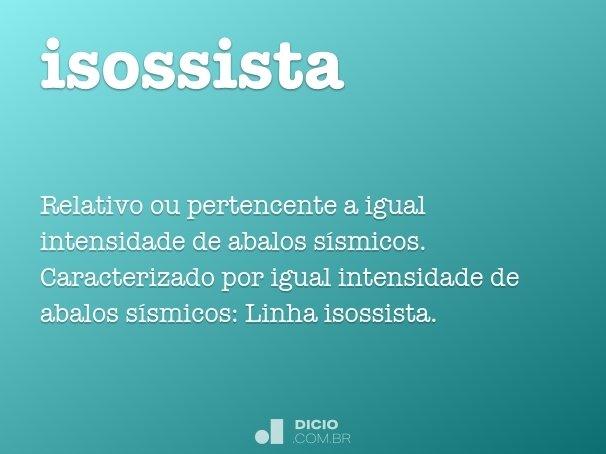 isossista
