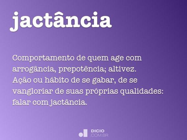 jact�ncia