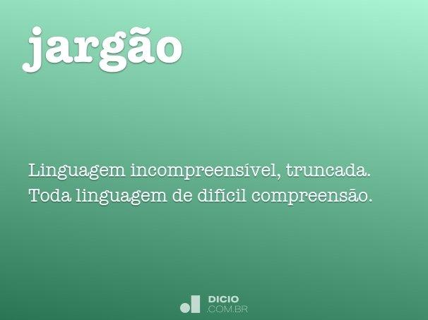 jarg�o