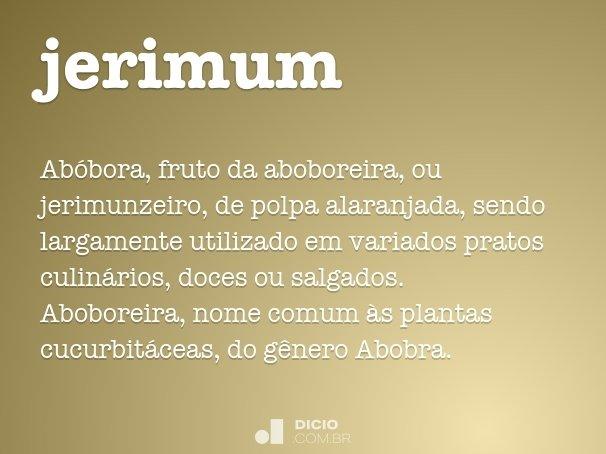jerimum