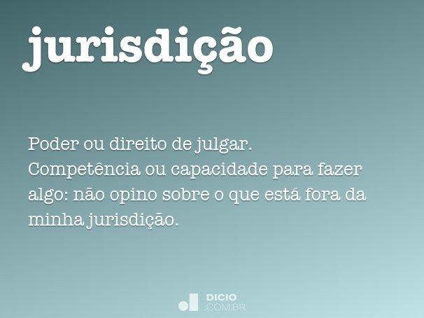 jurisdi��o