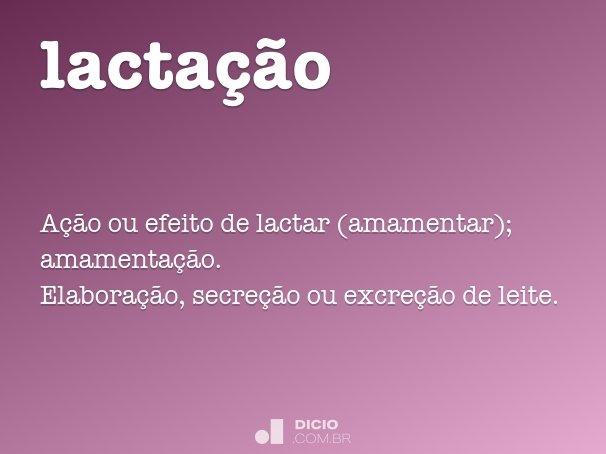 lacta��o