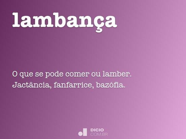 lamban�a