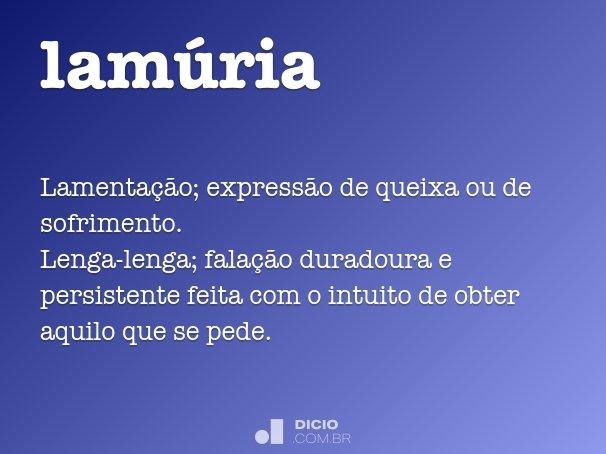 lamúria