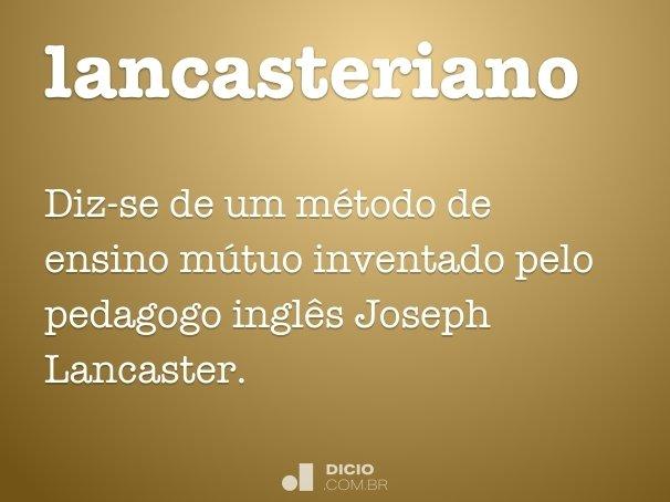 lancasteriano