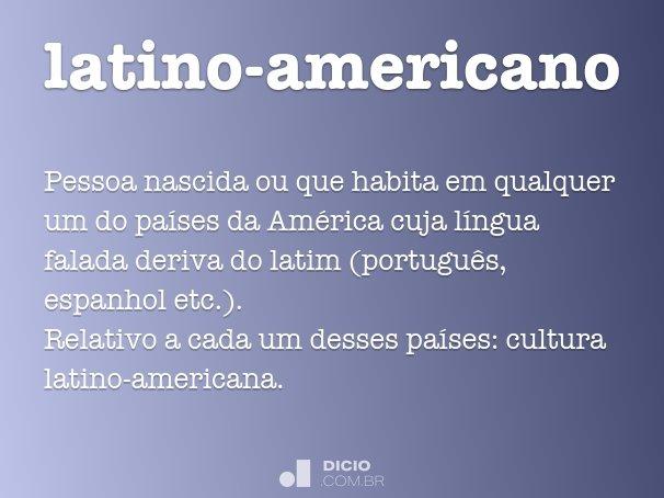 latino-americano