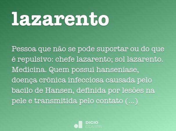 lazarento