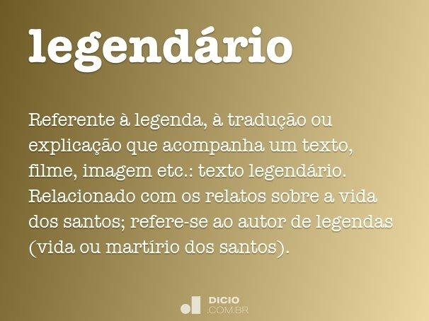 legend�rio