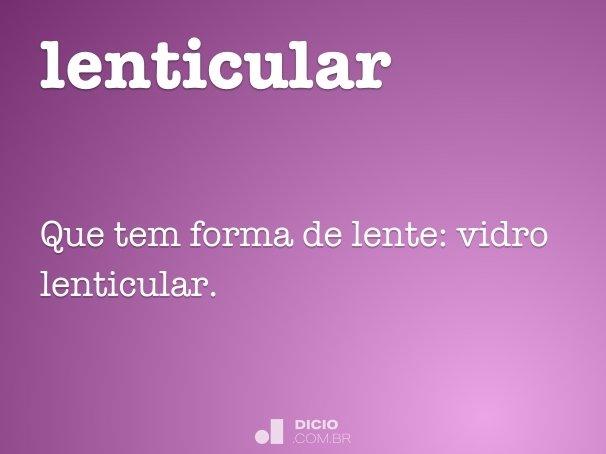 lenticular
