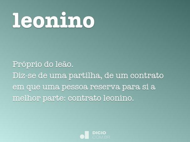 leonino