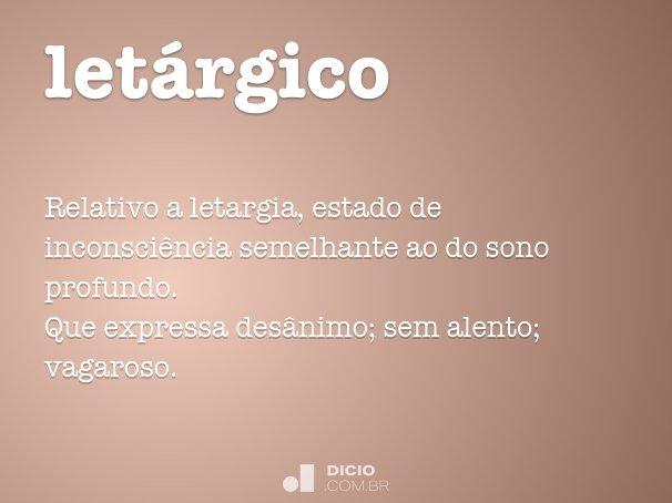 letárgico