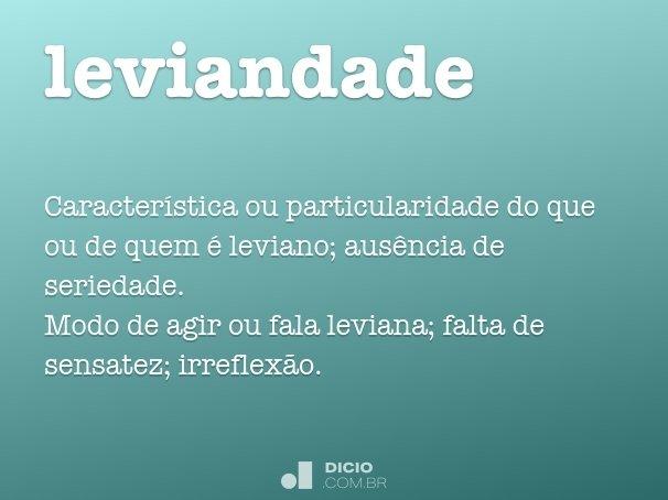 leviandade