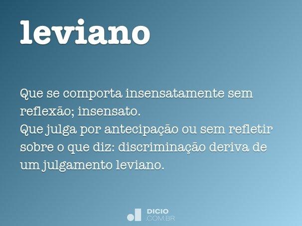 leviano