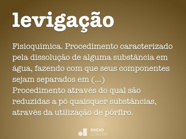 leviga��o