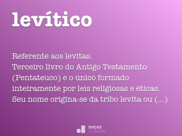 lev�tico