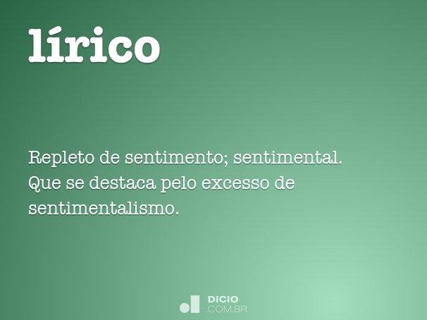 l�rico
