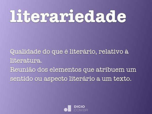 literariedade