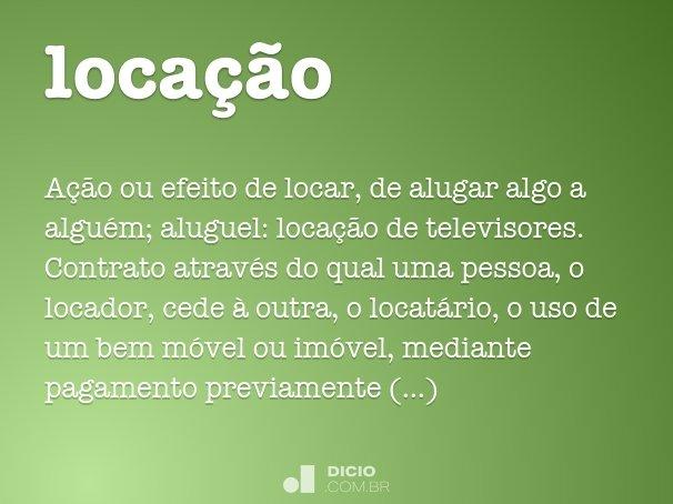 loca��o