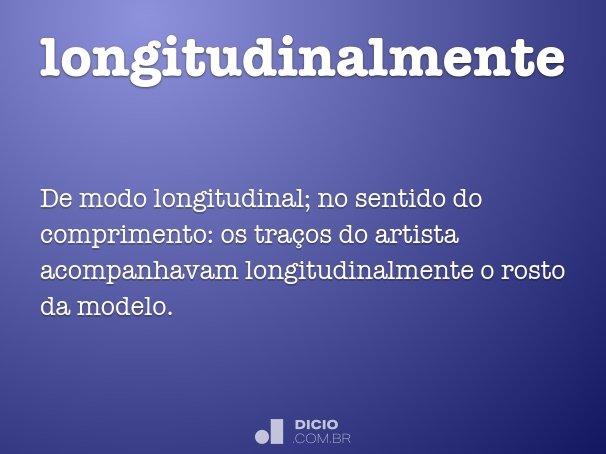 longitudinalmente