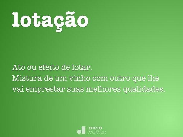 lota��o