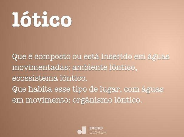 lótico
