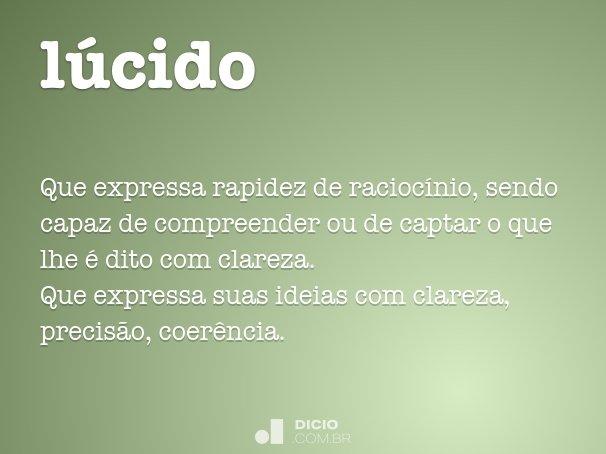 lúcido