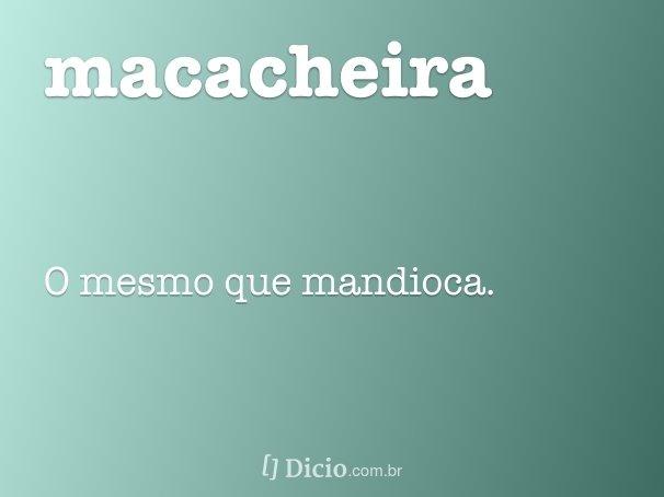 macacheira