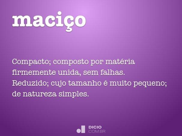 maci�o