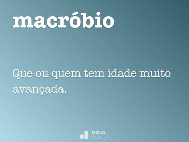 macr�bio