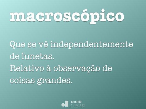 macrosc�pico