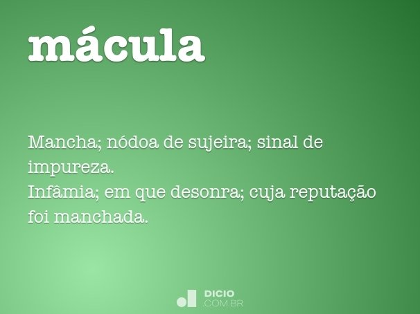 mácula