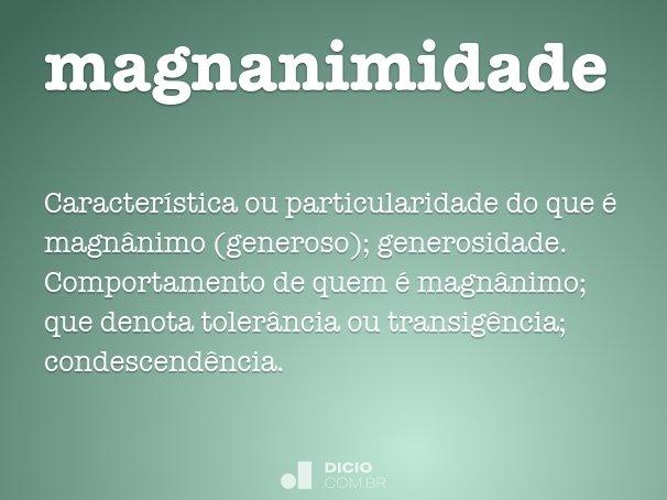 magnanimidade