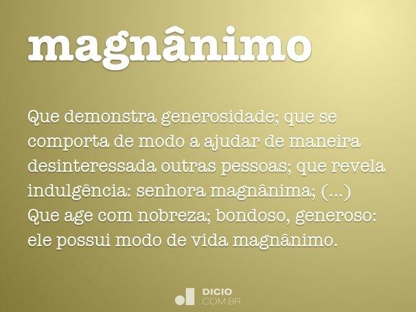 magn�nimo