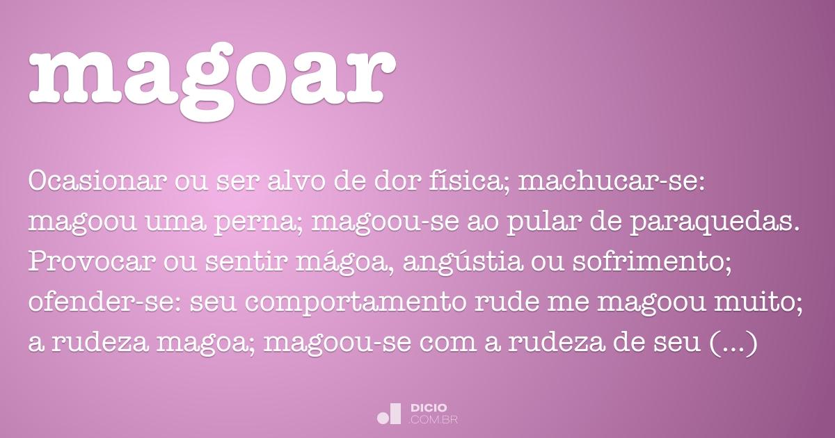 Magoar Dicio Dicionário Online De Português