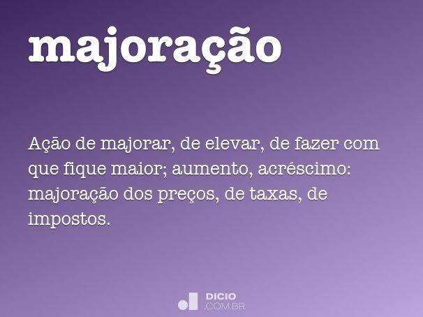 majora��o