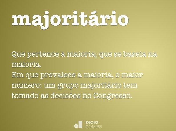 majorit�rio