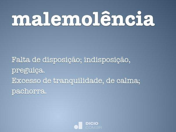 malemol�ncia