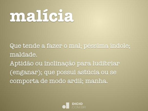malícia