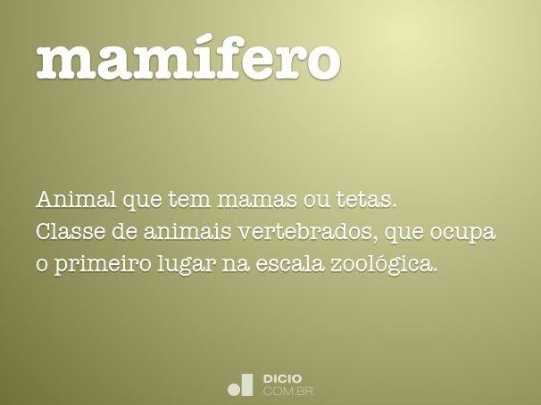 mam�fero