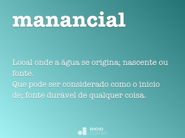 manancial