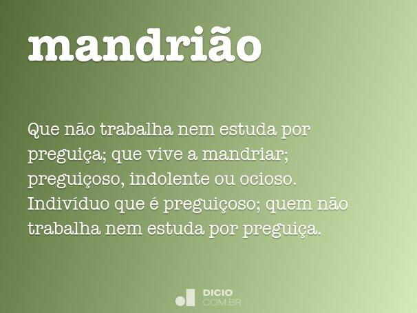 mandri�o