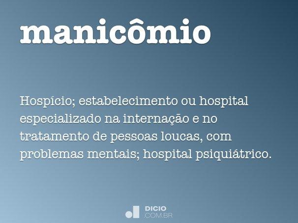 manic�mio