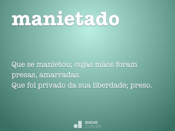 manietado