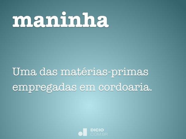 maninha