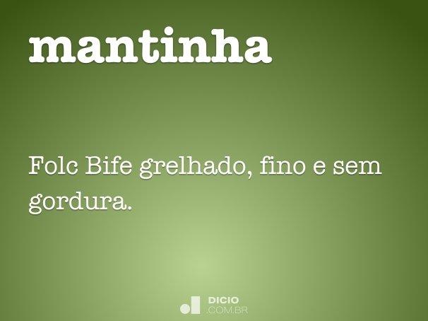 mantinha