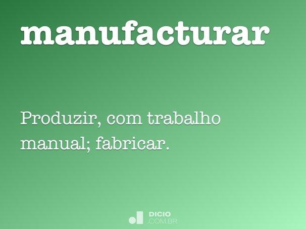 manufacturar