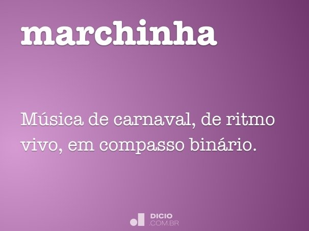 marchinha