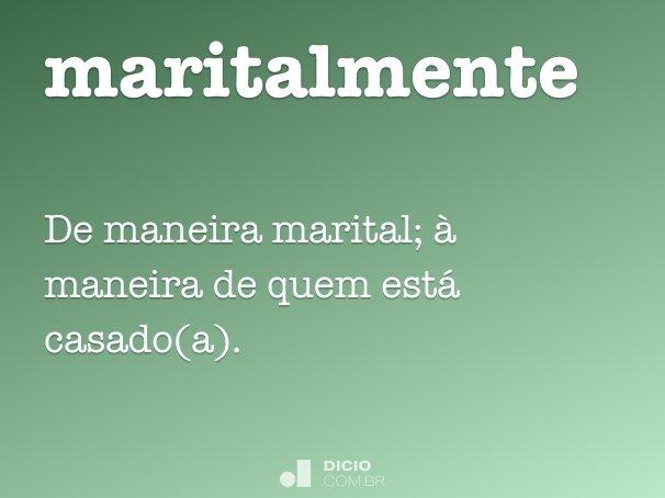 maritalmente